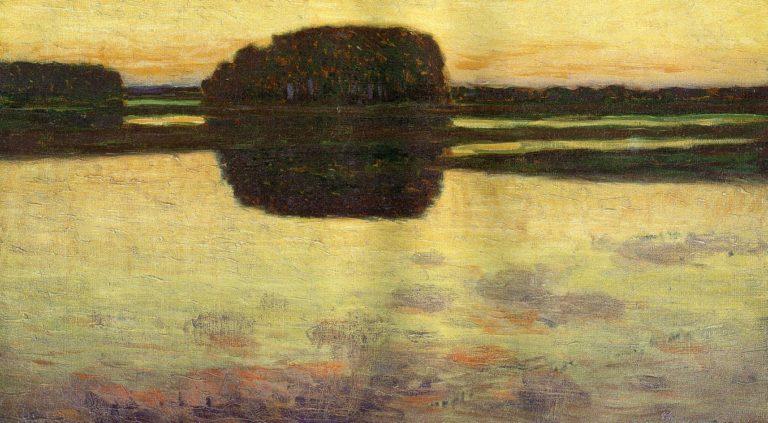 Ipswich Marsh 1900 | Arthur Wesley Dow | oil painting