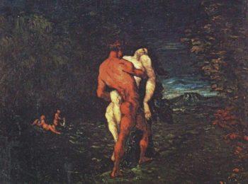 The rape | Paul Cezanne | oil painting