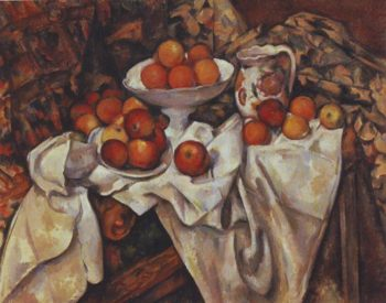 Apples and oranges | Paul Cezenne | oil painting