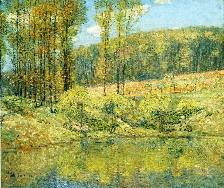 Spring, Navesink Highlands Frederick Childe Hassam