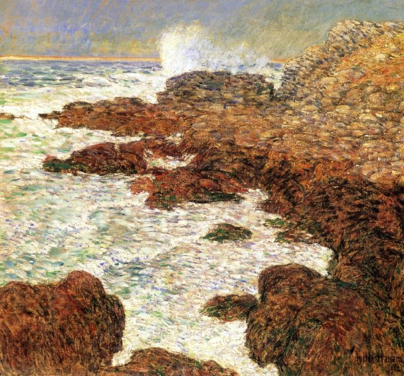 Seaweed and Surf, Appledore Frederick Childe Hassam