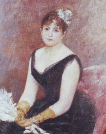 Madame clapisson | Pierre-Auguste Renoir | oil painting