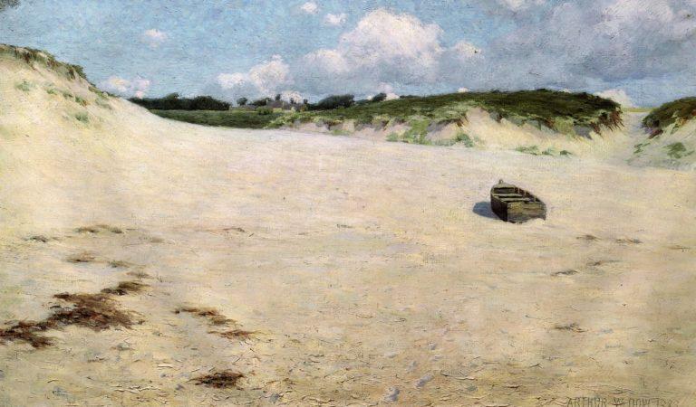 Les Sables de Raguenes 1888 | Arthur Wesley Dow | oil painting