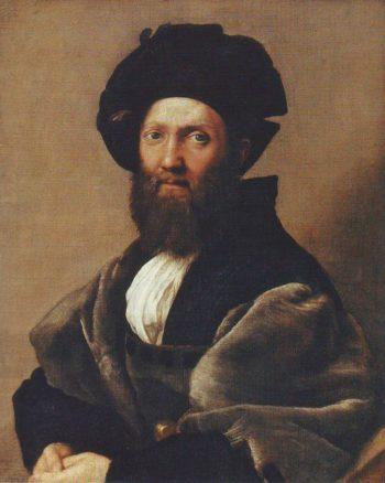 Baldassare castiglione | Raphael | oil painting