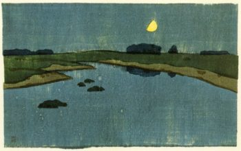 Marsh Creek 1905 | Arthur Wesley Dow | oil painting