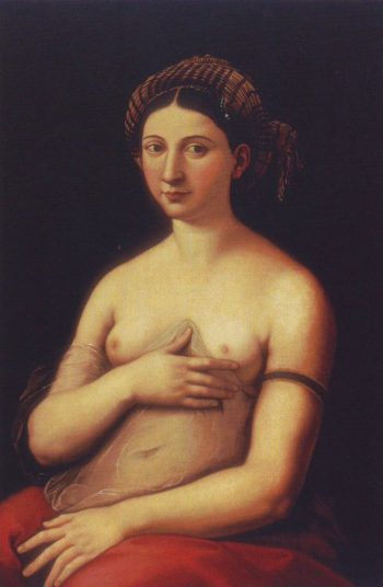 La Fornarina | Raphael | oil painting