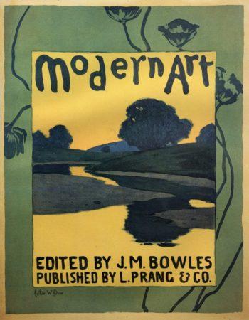 Modern Art 1895   Arthur Wesley Dow   oil painting