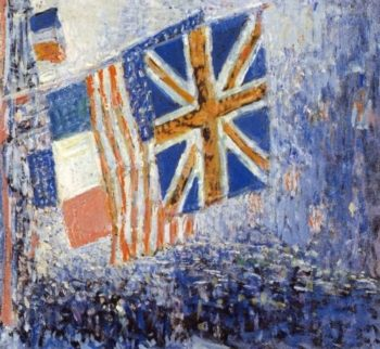 The Big Parade | Frederick Childe Hassam | oil painting