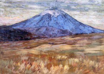 Mount Hood 1917   Arthur Wesley Dow   oil painting