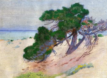 Pacific Grove California 1919 | Arthur Wesley Dow | oil painting
