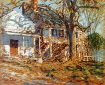 The Brush House1 | Frederick Childe Hassam | oil painting