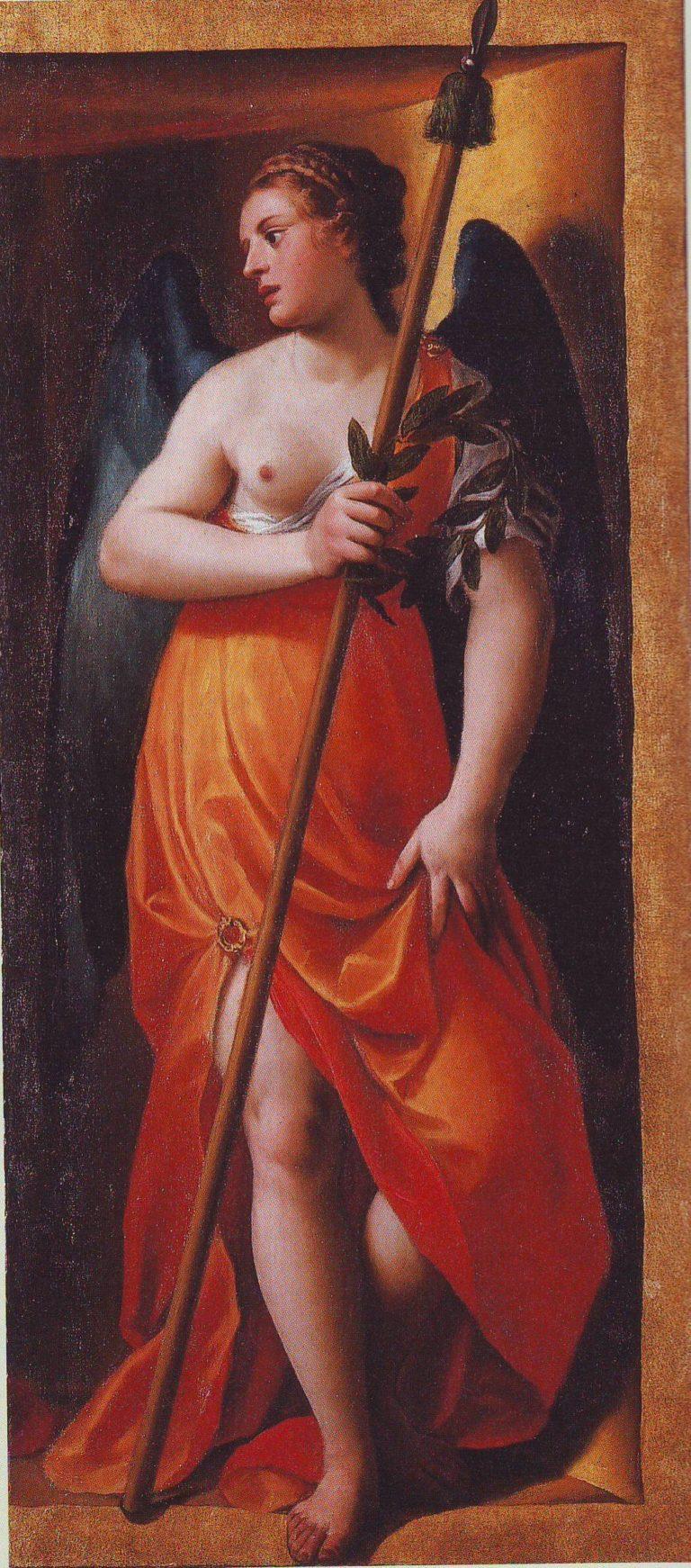 Music   Alessandro Turchi   oil painting