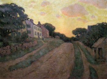 Summer Street 1890 | Arthur Wesley Dow | oil painting