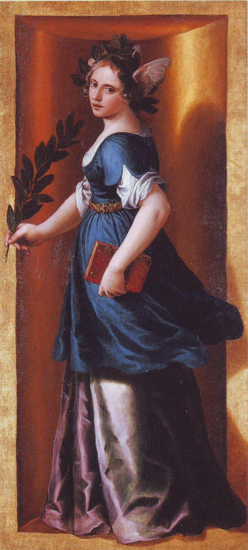 Virtue | Alessandro Turchi | oil painting