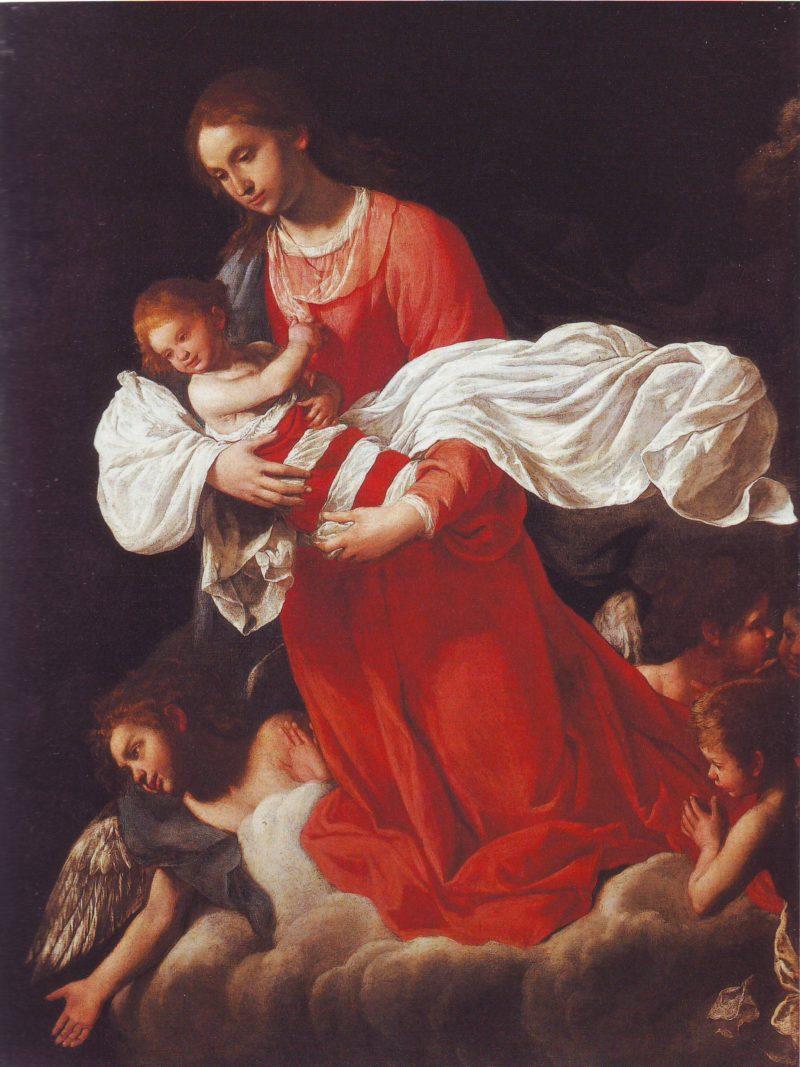 Madonna Di Pistoia | Anastasio Fontebuoni | oil painting