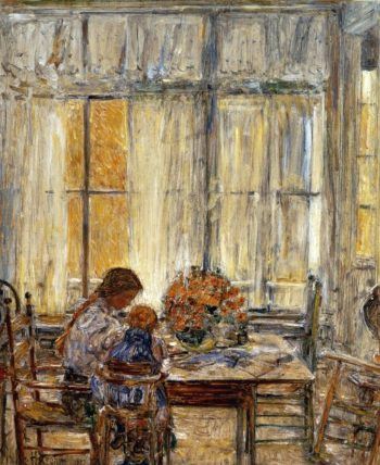 The Children | Frederick Childe Hassam | oil painting
