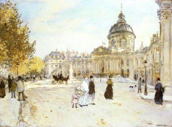 The Institute   Jean Francois Raffaelli   oil painting