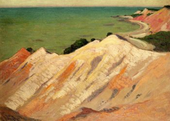 The Clay Cliff Gay Head Massachusetts Date unknown | Arthur Wesley Dow | oil painting