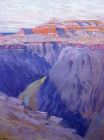 The Destroyer 1911 1913 | Arthur Wesley Dow | oil painting