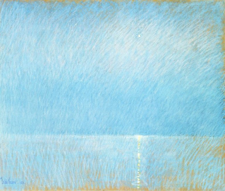 The Evening Star | Frederick Childe Hassam | oil painting
