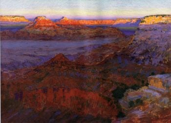 The Grand Canyon 1911 1912 | Arthur Wesley Dow | oil painting