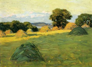 The Hill Field 1908 1910 | Arthur Wesley Dow | oil painting
