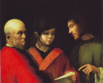 The Three Ages Of Man | Attributed To Giorgione | oil painting