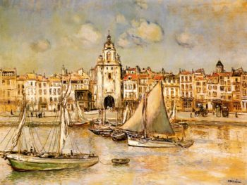 View of La Rochelle | Jean Francois Raffaelli | oil painting