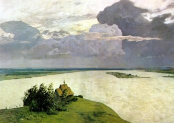 Above the Eternal Peace 1894 | Isaac Ilich Levitan | oil painting