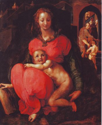 The Virgin And Child | Attributed To Jacopo Da Pontormo | oil painting