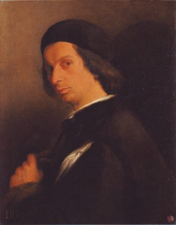 Portrait Of A Man Holding A Glove | Attributed To Lorenzo Lotto | oil painting