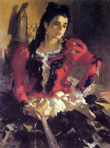 Mujer 1 | Jose Bardasano Baos | oil painting
