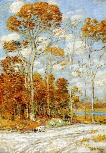 The Hawk's Nest | Frederick Childe Hassam | oil painting