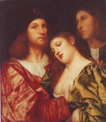 The Lovers | Attributed To Titian | oil painting