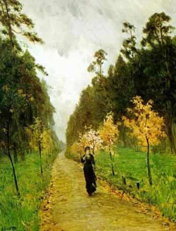 Autumn day Sokolniki 1879 | Isaac Ilich Levitan | oil painting