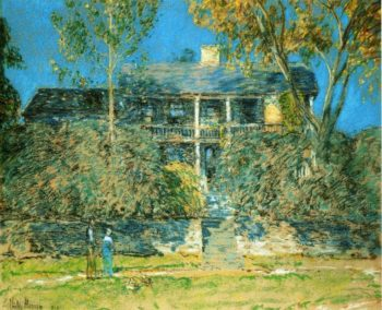 The Holly Farm | Frederick Childe Hassam | oil painting