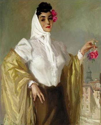 Mujer | Jose Bardasano Baos | oil painting