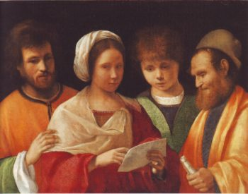 The Concert | Attributed To Vittore Beliniano | oil painting