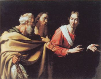 The Calling Of ST Peter And ST Andrew | Bernardo Strozzi | oil painting