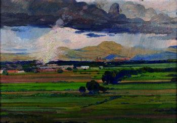 Paisaje | Jose Bardasano Baos | oil painting
