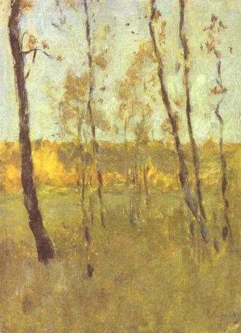 Autumn Study 1895 1899 | Isaac Ilich Levitan | oil painting