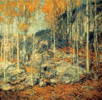The Ledges | Frederick Childe Hassam | oil painting
