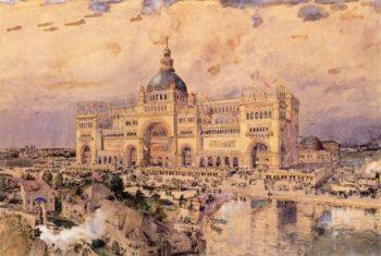 The Mackaye Spectatorium | Frederick Childe Hassam | oil painting