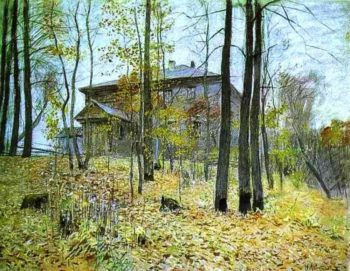 Autumn The Manor 1894 | Isaac Ilich Levitan | oil painting