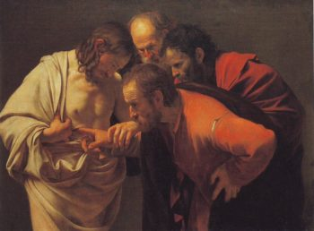 Doubting Thomas | Caravaggio | oil painting