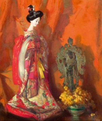 Porcelana | Jose Bardasano Baos | oil painting
