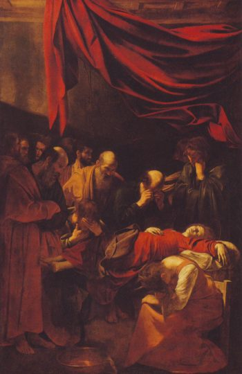 The Death Of The Virgin | Caravaggio | oil painting
