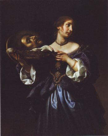 Salome With The Head Of ST John The Baptist | Carlo Dolci | oil painting