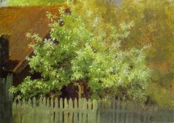Bird Cherry Tree 1885 | Isaac Ilich Levitan | oil painting