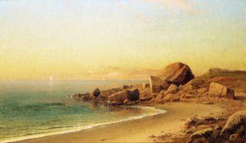 HOn the California Coast | Raymond Dabb Yelland | oil painting
